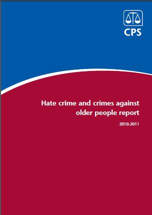 Image and link for Hate crime and crimes against older people report 2010 - 2011